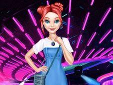 Princess Denim Dress Fashion