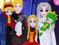 Princess Family Halloween Costumes
