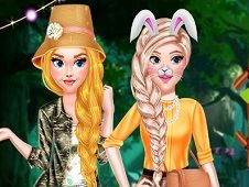 Princess Girls Safari Trip