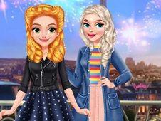 Princess Girls Trip to Europe