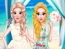 Princess Girls Wedding