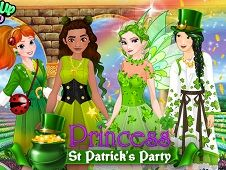 Princess St Patrick Party