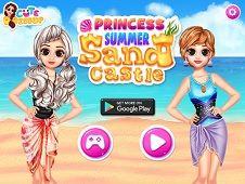 Princess Summer Sand Castle