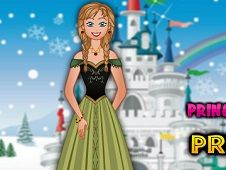 Princess Anna Dress Up