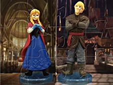 Princess Anna and Kristoff Puzzle