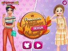 Princesses Autumn Design Challenge
