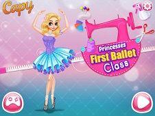 Princesses First Ballet Class