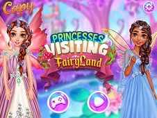 Princesses Visiting Fairyland
