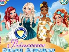 Disney Princesses Beach Getaway