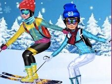 Princesses Go Skiing