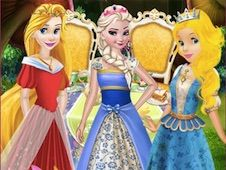 Princesses Tea Party in Wonderland