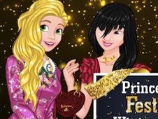 Princesses Festive Winter Looks
