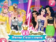 Blondes VS Brunettes Prom Challenge