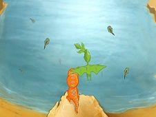 Pteranodon Fishing