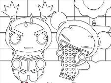 Pucca Online Coloring