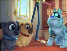 Puppy Dog Pals and Robot Dog Puzzle