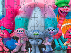 Trolls Characters Puzzle