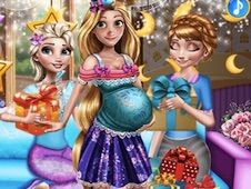 Rapunzel Baby Shower Party