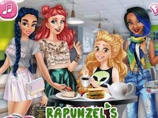 Rapunzel Brunch Date with Besties