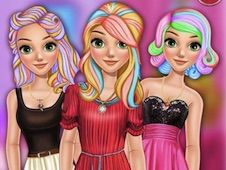 Rapunzel Dye Hair Design