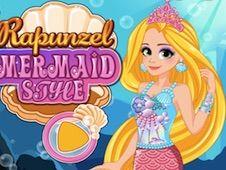 Rapunzel Mermaid Style