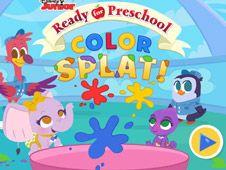 Ready for Preschool Color Splat