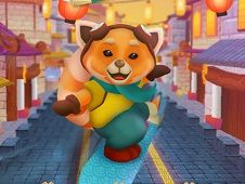 Red Panda Surfer