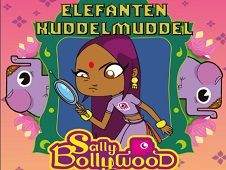 Sally Bollywood Elephant Bejeweled