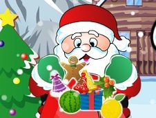 Santa Collecting Christmas Gifts