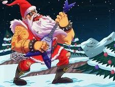 Santa Rockstar 2 Metal Xmas