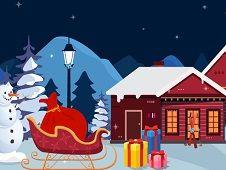 Santa Christmas Gift Escape