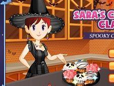 Sara Cooking Class Spooky Cupcakes