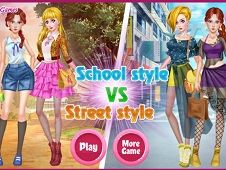 School Style Vs Street Style