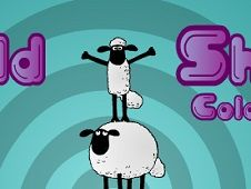 Shaun the Sheep Coloring