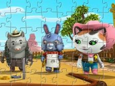 Puzzle Sheriff Callie and Friends