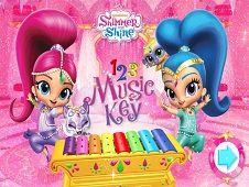 Shimmer and Shine 1 2 3 Music Keys