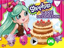Shopkins Shoppies Cake Decoration