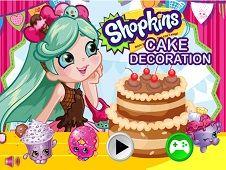 Shopkins Shoppies Cake Decoration
