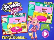 Shopkins Shoppies Cleaning