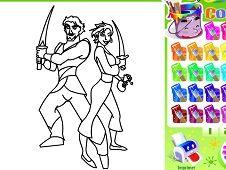 Coloring Sinbad