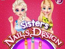 Sisters Nail Design