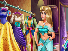 Sleeping Princess Secret Wardrobe