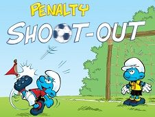 Smurfs Penalty Shoot Out