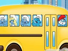 Smurfs School Bus Ride
