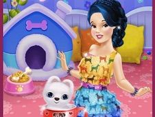 Snow White and Tiny Teacup Poodle