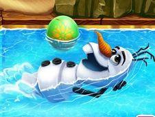 Snowman Swimming Pool