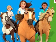 Spirit Riding Free Animated Coloring Book Spirit Riding Free Games