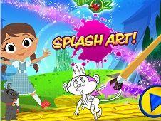 Dorothy and the Wizard Splash Art