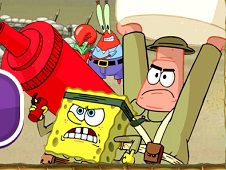 Spongebob Defend the Krusty Krab