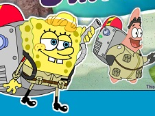 Spongebob and Patrick Dirty Bubble Buster